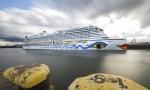 Aida Prima im Hamburger Hafen