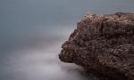 Langzeitbelichtung an Steilküste von Mallorca