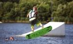 Wakeboarden in Pinneberg an der Wasserskianlage